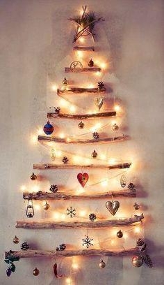 La Chica del Maletín: 10 ideas originales para hacer tu árbol de navidad:
