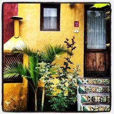 Colorful house in Antigua, Guatemala