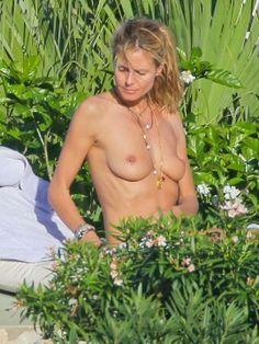 Topless Heidi Klum Bikini Photos: St. Barts