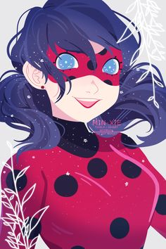 it's ladybug! //art trade with http://vanillakeyblade.tumblr.com/