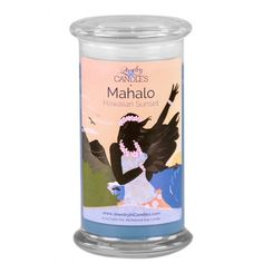 Mahalo Candle  There's no place on earth like Hawaii. Imagine swinging gently on a hammock while the balmy, fresh ocean breeze caresses your hair. A tropical blend of orchid, tuberose and awapuhi with a hint of vanilla, sandalwood and a light musk. Escape with Hawaiian Sunset. - See more at: https://www.jewelryincandles.com/store/sherpre9/p/578:c:101/new-releases/mahalo-candle-/#sthash.y1HW5Qzj.dpufe