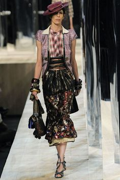 Marc Jacobs Spring 2009 Ready-to-Wear Fashion Show - Jamie Bochert