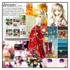 """""""Red Riding Hood Cosplay"""" by rukiak ❤ liked on Polyvore"""