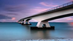Photograph zeelandbrug by wim denijs on 500px