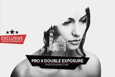 PRO II DOUBLE EXPOSURE Action by @Graphicsauthor