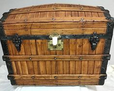 Vintage Trunks, Antique Trunks, Photography Supplies, Antique Restoration, First Home Gifts, Vintage Storage, Cool Items, Storage Solutions, Woodworking