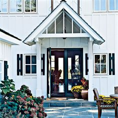 Dual Purpose - Ideas for Creating an Inviting Entryway - Coastal Living