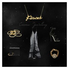 """""""Pisces Sparkle"""" by valerie-grooten ❤ liked on Polyvore featuring Belk & Co., Mulberry, Vivienne Westwood, Kendra Scott and Dsquared2"""