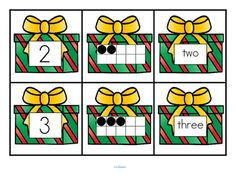 KWANZAA Number Matching Cards 0-10  FREE by KidSparkz  | Teachers Pay Teachers