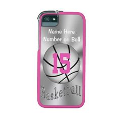 Custom iPhone Basketball Cases for Women and Girls iPhone 5/5S Cases.  Basketball Stuff With many being Customizable with YOUR NAME and or NUMBER.  Lots more Custom and Personalized Basketball Gifts CLICK HERE: http://www.zazzle.com/littlelindapinda/gifts?cg=196808750908670951&rf=238147997806552929*/  ALL of Little Linda Pinda Designs CLICK HERE: http://www.Zazzle.com/LittleLindaPinda*/