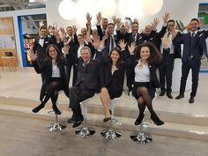 Il team Rowa Technologies in fiera