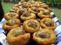 Plain Chicken: Sausage Biscuit Bites - Football Friday