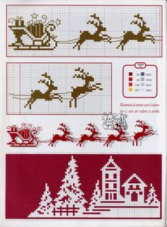 This Pin was discovered by Lau Xmas Cross Stitch, Cross Stitch Bookmarks, Cross Stitch Charts, Cross Stitch Designs, Cross Stitching, Cross Stitch Embroidery, Embroidery Patterns, Cross Stitch Patterns, Cross Stitch Freebies
