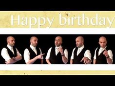 Happy birthday (* NSYNC) - A cappella - Geburtstag - Birthday&Gifts Happy Birthday Song Youtube, Birthday Songs Video, Funny Happy Birthday Song, Happy Birthday Video, Happy Birthday Candles, Happy Birthday Greetings, Birthday Quotes, Birthday Cards, Happy Song