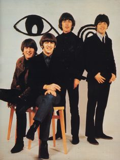 John Lennon, Richard Starkey, George Harrison, and Paul McCartney