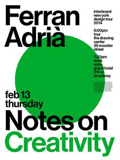 notes on creativity 04 poster by joseph han