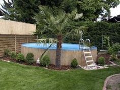 Stahlwandpool im garten  Bildergebnis für poolgestaltung mit pflanzen | Garten | Pinterest