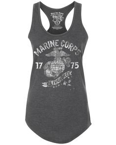 1957a823e0e03b Having a Marines t-shirt shows everyone that you support the military and  everything they