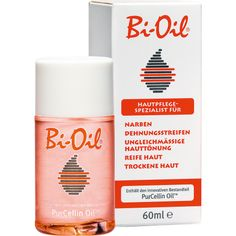 Bi Oil against stretch marks, scars, erretic skin tones, adult skin, dry skin