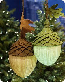 acorn lamps from Martha Stewart