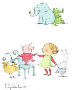 Children's Book Illustration Style