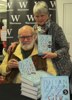At a book signing