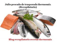 Recopilatorio de recetas thermomix: Julio pescado de temporada 2017 thermomix (Recopilatorio)