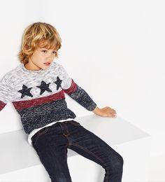 Image 1 of Stars sweater from Zara