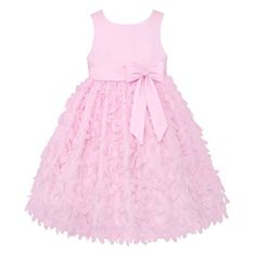 Girls 7-16 & Plus Size American Princess Petal Applique Dress, Girl's, Size: 16, Pink Ovrfl