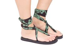 Sandals sandals $19.99 You can have hundreds of designs with one pair of these sandals comes with straps your choice of color! PRICE DROP