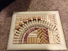 Wine cork boards on Pinterest | Wine Corks, Key Chains and Cork Boards