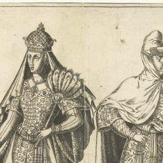 bij les 3: Kleding van het Ottomaanse hof rond 1580, Abraham de Bruyn, Joos de Bosscher, 1581 - Rijksmuseum