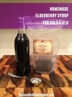 Want to build up your immune system? Heres a simple and effective elderberry syrup recipe for cold and flu. Homemade elderberry syrup is a safe, effective natural remedy for colds and flu--or just to boost your immune system during the winter months! Cough Remedies, Herbal Remedies, Health Remedies, Natural Medicine, Herbal Medicine, Natural Cold Remedies, Elderberry Syrup, Alternative Health, Winter Months