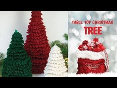 This article features wonderful crochet patterns for amigurumi Christmas trees that are absolutely free! Crochet these free Christmas tree patterns for yourself or to give away as presents! Crochet Christmas Trees, Christmas Tree Pattern, Christmas Crochet Patterns, Christmas Elf, Christmas Ornaments, Xmas Trees, Crochet Crowd, Free Crochet, Tree Patterns