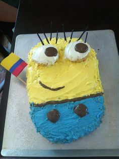 Minons cake by Madeline :D