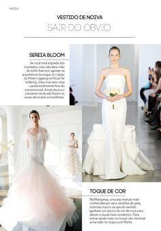 CF REVISTA 14º Edição | Vestidos de noiva fora do comum - FOLHA DO ES