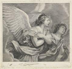Twee engelen, Pieter Willem van Megen, 1772