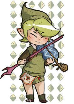 Fado, from Legend of Zelda: The Wind Waker