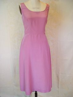 Vintage 1950s Lavender Rayon Slip