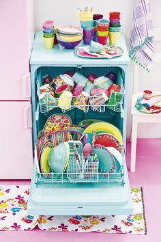 Happy dishwasher <3 RICE AW13♡