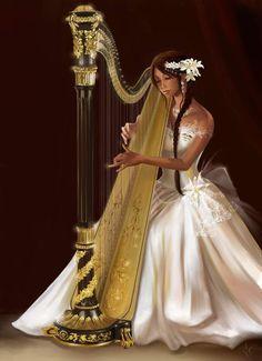 harp | Als ik een muziekinstrument was, dan was ik een Harp De harp is een ...
