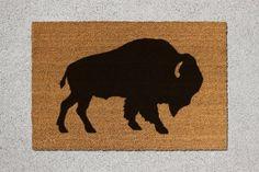Buffalo Doormat, Buffalo Door Mat, Buffalo Welcome Mat, Doormat, Door Mat…