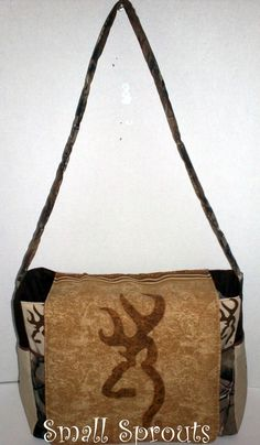 Browning Buckmark/ Real Tree AP Messenger by smallsproutsbaby, $89.00