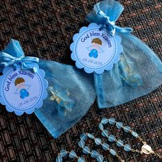 24 organza bags with mini rosaries included and thank you card- Boy Baptism favors- Christening Baptism girl favors -christening baptism boy Baptism Party Decorations, Baptism Favors, Baby Shower Favors, Baby Shower Parties, Baby Boy Baptism, Baby Christening, Baby Dedication, Elegant Baby Shower, Baby Boy Cakes