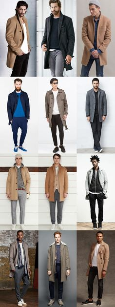 5 Great Combinations on Dressing Up-Dressing Down: 4. Commute Coat & Sunday Uniform Lookbook Inspiration