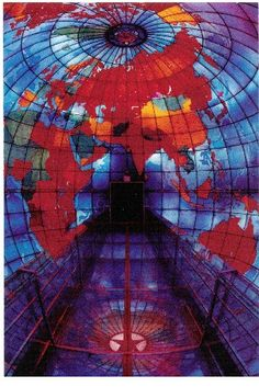 The Mapparium at the Mary Baker Eddy Library, Christian Science Mother Church, Boston
