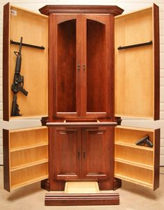 Corner Hutch Made By New Conceal Furniture