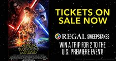 Star Wars: The Force Awakens -- Regal Cinemas Promotion!