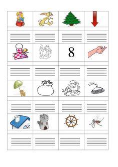ÍRD LE A KÉPEK NEVÉT! FELADATLAPOK - webtanitoneni.lapunk.hu Dysgraphia, Grade 1, Booklet, Language, Education, School, Cards, Writing, Reading
