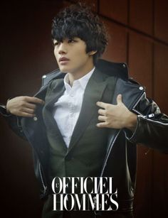 Yeo Jin-gu's photo shoot for L'Officiel Hommes » Dramabeans » Deconstructing korean dramas and kpop culture
